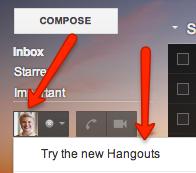Gmail Hangouts Chat