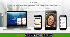 Google Hangouts Website